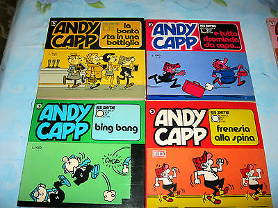 ANDY CAPP _ Comics-Box De Luxe Ed.Corno _ (F) lotto di 4 volumi .. vedi