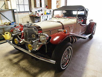 1929 Mercedes-Benz Other gazelle ssk 1929 mercedes ssk v6 engine automatic disk brakes lots of fun to drive great car