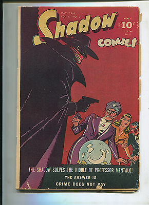 The Shadow Vol. 6 #2 (4.5) The Riddle Of Professor Mentalo!