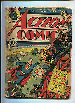 Action Comics #46 (1.5) Superman Battles The Domino
