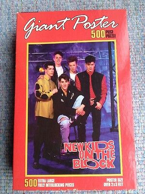 New Kids On The Block Puzzle Giant Poster