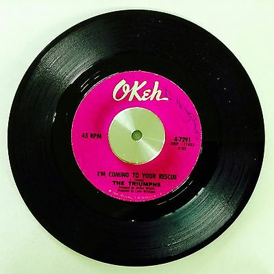 The Triumphs - I'm Coming To Your Rescue - Okeh - Northern Soul