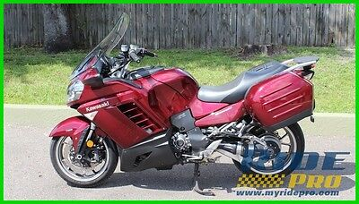 Kawasaki Concours™ 14 ABS 2009 Kawasaki Concours 14 ABS Sport Touring Motorcycle Hard Bags Windshield Fast
