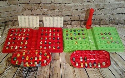HUGE LOT OF MIGHTY BEANZ BEANS Magnetic Jumping Magic Toys + FLIP TRACK Holder