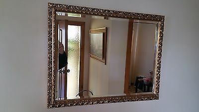 Wall Mirror - 670mm x 520mm - Gold Frame