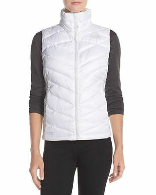 New The North Face Women'S Aconcagua Puffer Vest Tnf White 550 Fill Sz Xl Warm