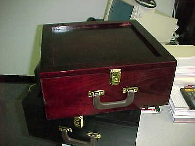 Storage Box for Graded Cards baseball cards Cherry for Regular and PSA Cards