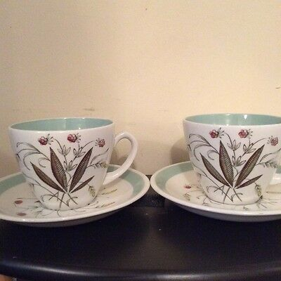 Hedgerow, Alfred Meakin cups and saucers