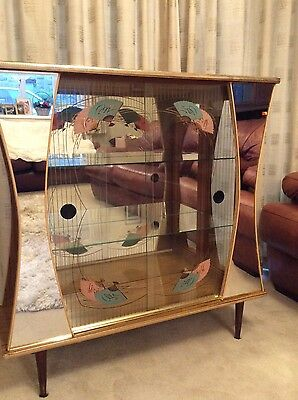 1950s mirror cabinet, vintage, cool and rare