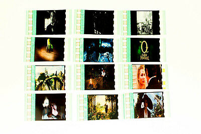 Oz The Great -12pack - 35mm Film Cell Lot movie memorabilia Aus Seller In Stock