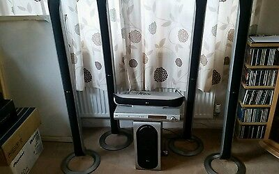 LG dvd player and surround system 5:1