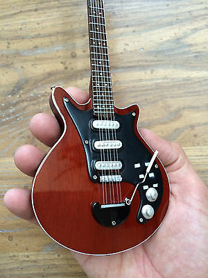 "Brian May Queen Legendary ""Red Special""  Miniature Guitar - Free US Shipping"
