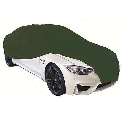 Cosmos Indoor Car Garage Cover SMALL Green Supersoft Breathable Dustproof Fabric