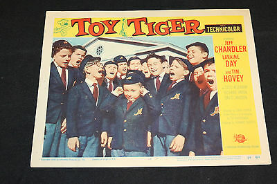 1956 Toy Tiger Lobby Card 56/184 #4 Jeff Chandler (C-5)