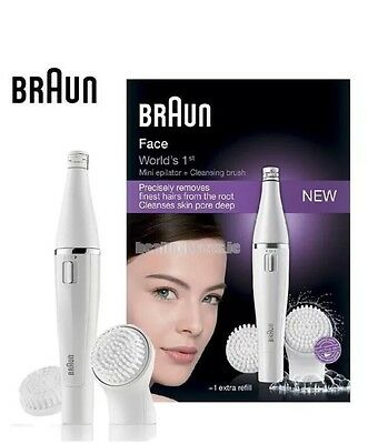 Braun SE820 Face Epilator And Cleansing Brush Set