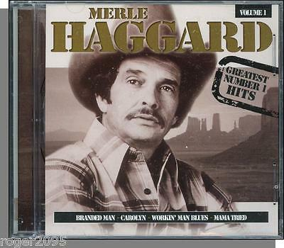 Merle Haggard - Greatest Number 1 Hits, Vol 1 - New Front Row Country CD!