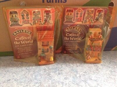 Baileys Cafes Of The World 1998 Collectable In Original Package