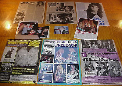 Matthew & Gunnar Nelson Band Vintage Clippings #7 #111716