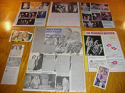 Matthew & Gunnar Nelson Band Vintage Clippings #8 #111716