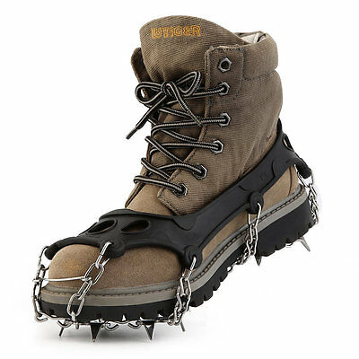 OUTAD High Quality TPR Hiking Traction Cleats/Crampons For Snow And Ice FJUK