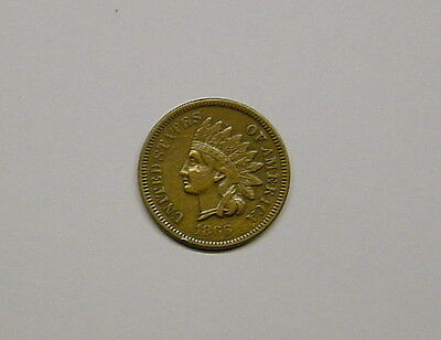 1866 Indian Cent in VF