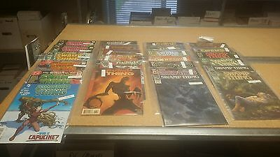 Lot of 25 misc qty DC Swamp Thing lot #2 comic books  WE COMBINE SH B1I