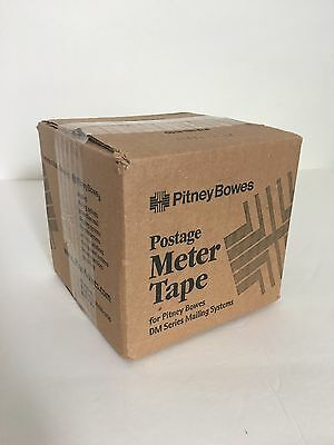Pitney Bowes 627-8 Postage Meter Tape 3 Rolls New In Box 6278 DM Series