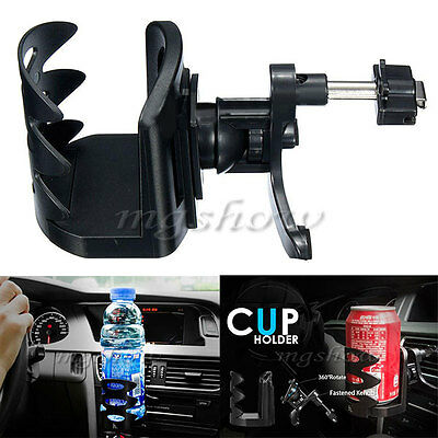 Universal Auto Car Air Vent Mount Beverage Drink Cup Bottle Can Holder Stand NEW