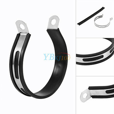 Motorcycle Motorbike Exhaust/Silencer Pipe Can Hanging Strap Mount Bracket New