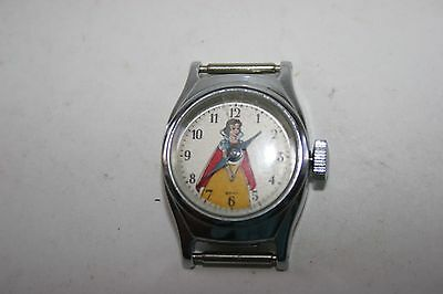 VINTAGE 1950'S SNOW WHITE WATCH with  BAND