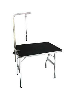 "MCombo 36"" Large Pet Dog Grooming Table w/ Adjustable Arm/Noose 5014"