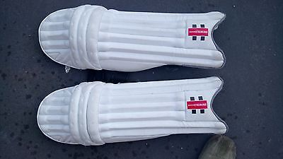 Youth / small mens left handed cricket pads - Gray Nicolls E41 1000