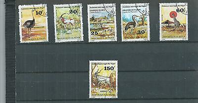 Niger. 1981. Animals And Birds Set . Cancelled To Order. As Per Scan