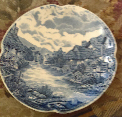 "Johnson Bros ""old english countryside""teacup size plate"