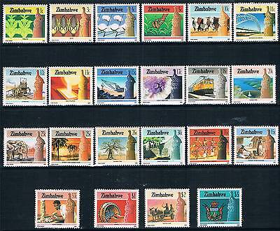Zimbabwe 1985 National Infastructure 22v SG 659/80 MNH