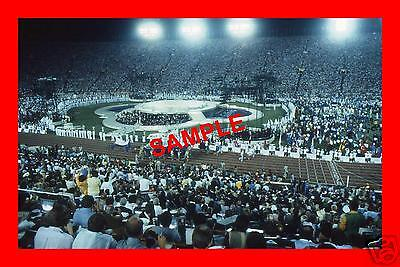 Original 1984 Press Transparency - Olympic Games Closing Ceremony