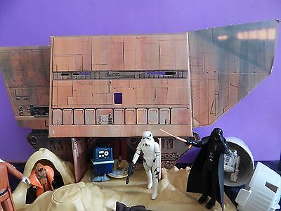 Vintage Star Wars Land Of The Jawas Playset Complete with Box