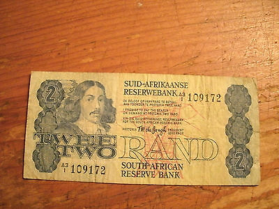 Twee Rand South African Reserve Bank Note