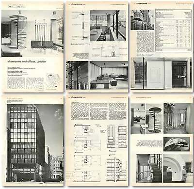 1963 Showrooms And Offices For Hille Of London, Design, Plan