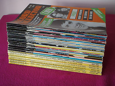 Job Lot 25 x 1980's & 1990's Record Collector Magazines - All Issues Shown