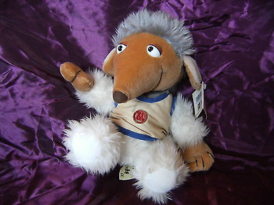 """10"""" Womble Soft Toy the wombles By animal playmakers with tag"""