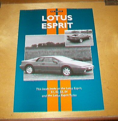 Lotus Esprit S1 S2 S3 S4 Book History Specification Photos Road Test Reprints