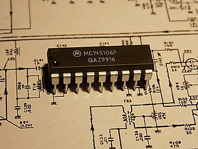 Mc145106P Mc 145106 Pll Frequency Synthesizer