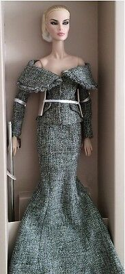 """Tweed Courture Dania 12"""" Fashion Royalty 2016 Supermodel Convention Doll"""