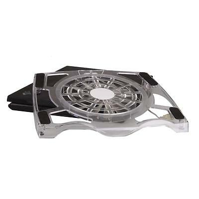 """Notebook USB One Big Fan Blue LED Cooling Cooler Pad Stand for 15"""" Laptop PC HK"""