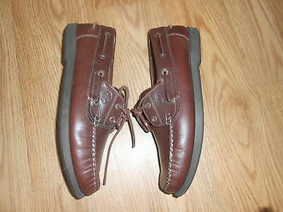 Hush Puppies  Brown  Leather Shoes  Size Uk 10