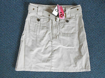 BNWT - CQ beige skirt with belt age 12 - 13 years