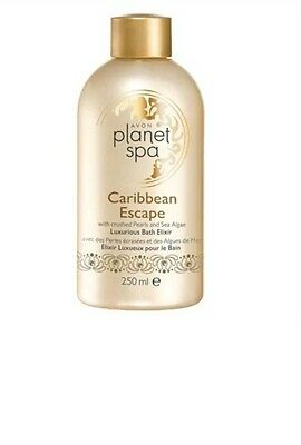 AVON Planet Spa Caribbean Escape Luxurious Bath Elixir 250ml