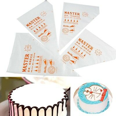 100Pcs S Size Disposable Icing Piping Bag Pastry Cream Cake Decor Tools
