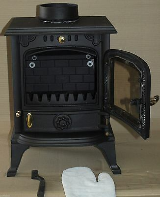 cast iron multi fuel 4.5kW stove
